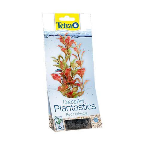 Kunststoffpflanze Plantastics red Ludwiga