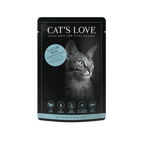 Cat's Love Adult Lachs Pur Beutel