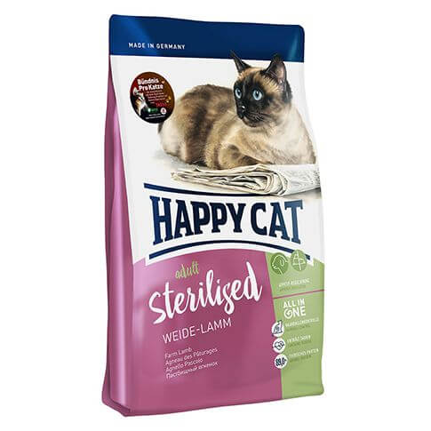 Happy Cat Supreme Adult Sterilised Weide-Lamm