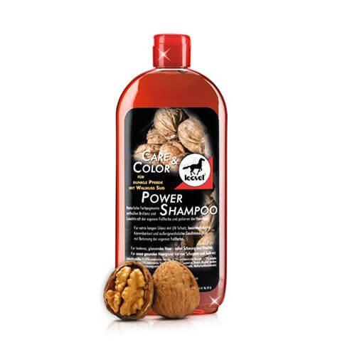 Leovet Power Shampoo für dunkle Pferde