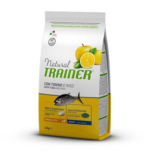 Trainer Natural Dog Adult Small&Toy with Tuna and Rice