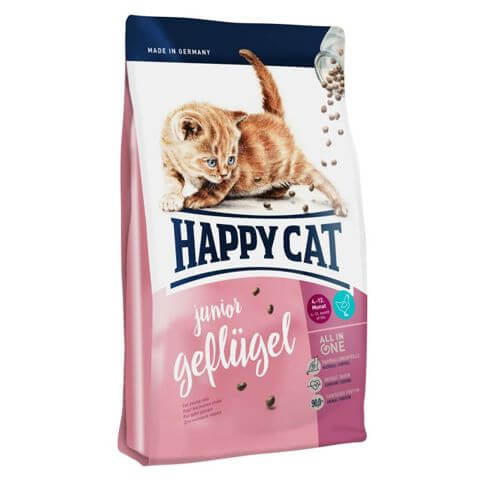 Happy Cat Junior Geflügel