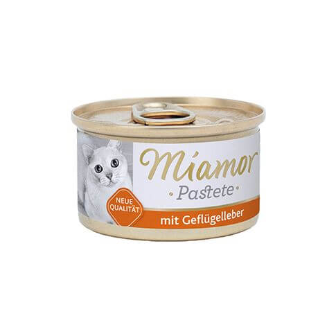 Miamor Fleischpastete mit Geflügelleber