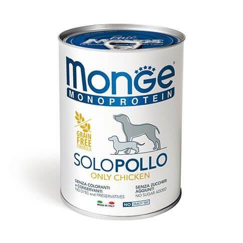 Monge Dog Monoprotein Paté Chicken