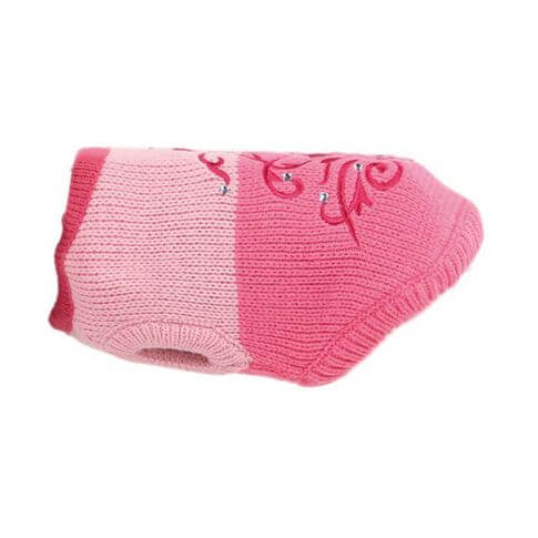 Hundepullover Pearly pink