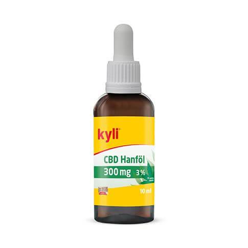 Hanfsamenöl angereichert mit CBD Öl von biologischen Cannabisblüten auf 300 mg (3 %)