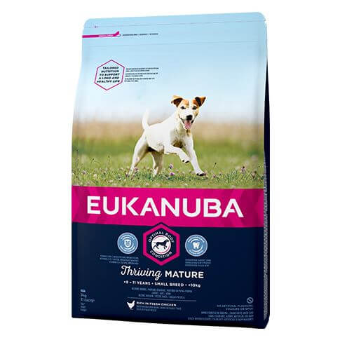Eukanuba Thriving Mature Small mit Huhn