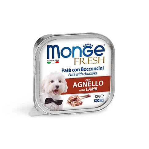 Monge Dog FRESH Paté Lamb