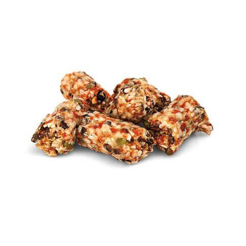 Bunny Lieblings-Stückchen mit Mehlwürmern und Gemüse