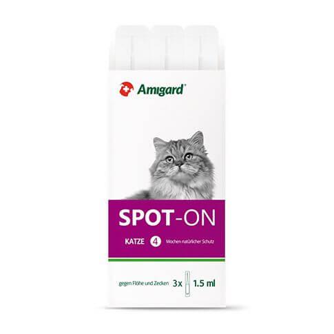 Spot-on für Katze