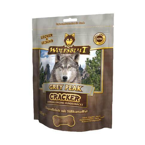 Wolfsblut Grey Peak Cracker mit Ziege & Süsskartoffeln