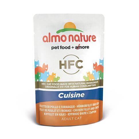 Almo Nature HFC Cuisine Hühnerfilet & Käse