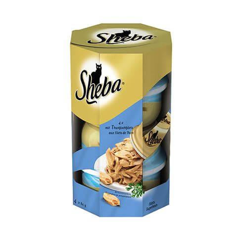 Sheba Thunfischfilet in Sauce