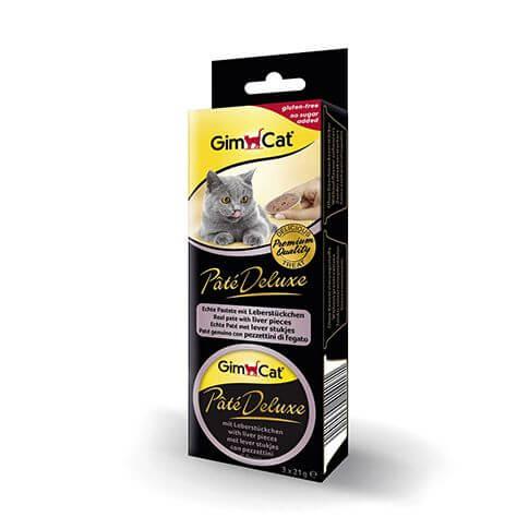 GimCat Pâté Deluxe mit Leberstückchen