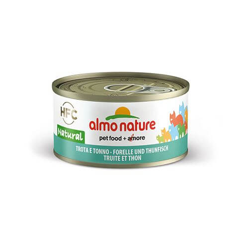 Almo Nature HFC Natural Forelle & Thunfisch