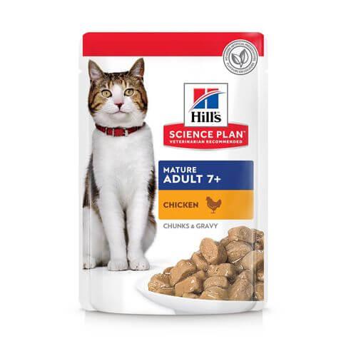 Hill's Science Plan Katze Mature Adult 7+ Huhn - Beutel