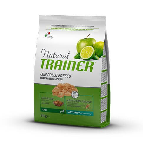 Trainer Natural Dog Maturity Maxi with Fresh Chicken