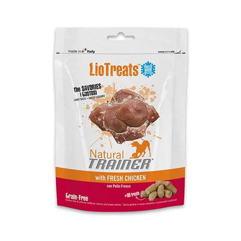 Trainer LioTreats with Fresh Chicken