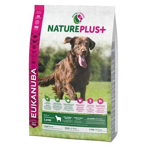 Eukanuba Nature Plus Adult Large Lamm