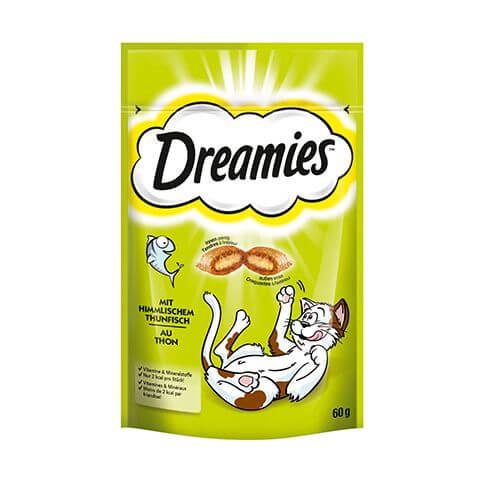 Dreamies mit himmlischem Thunfisch