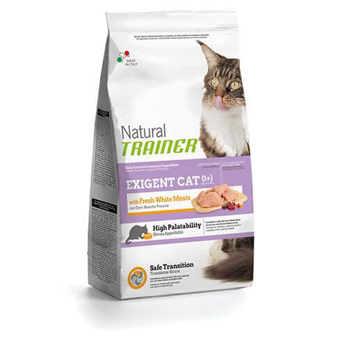 Trainer Natural Exigent Cat with Fresh White Meats