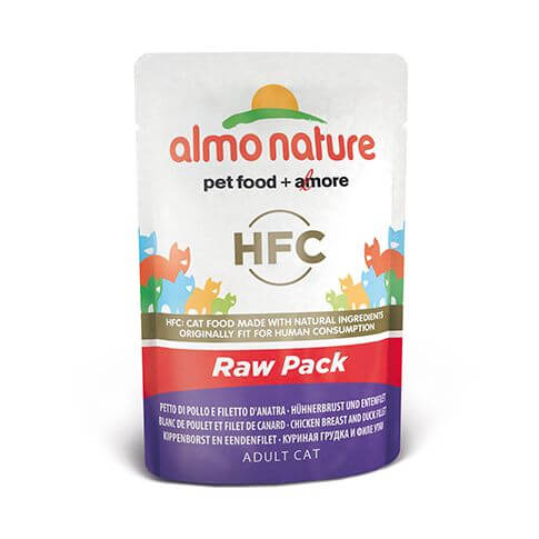 Almo Nature HFC Raw Pack Hühnerbrust & Entenfilet
