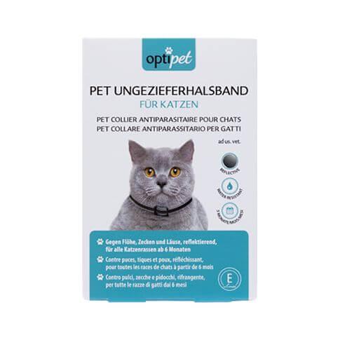 Ungezieferhalsband für Katzen, reflektierend