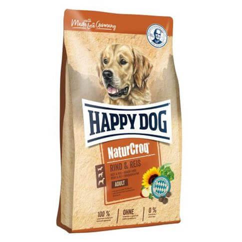 Happy Dog NaturCroq Adult mit Rind & Reis