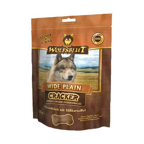 Wolfsblut Wide Plain Cracker mit Pferd & Süsskartoffel