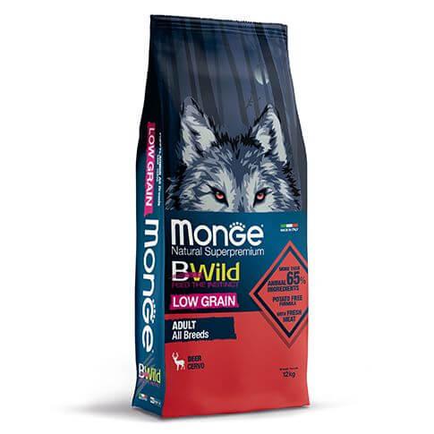 Monge BWild Low Grain Adult Deer