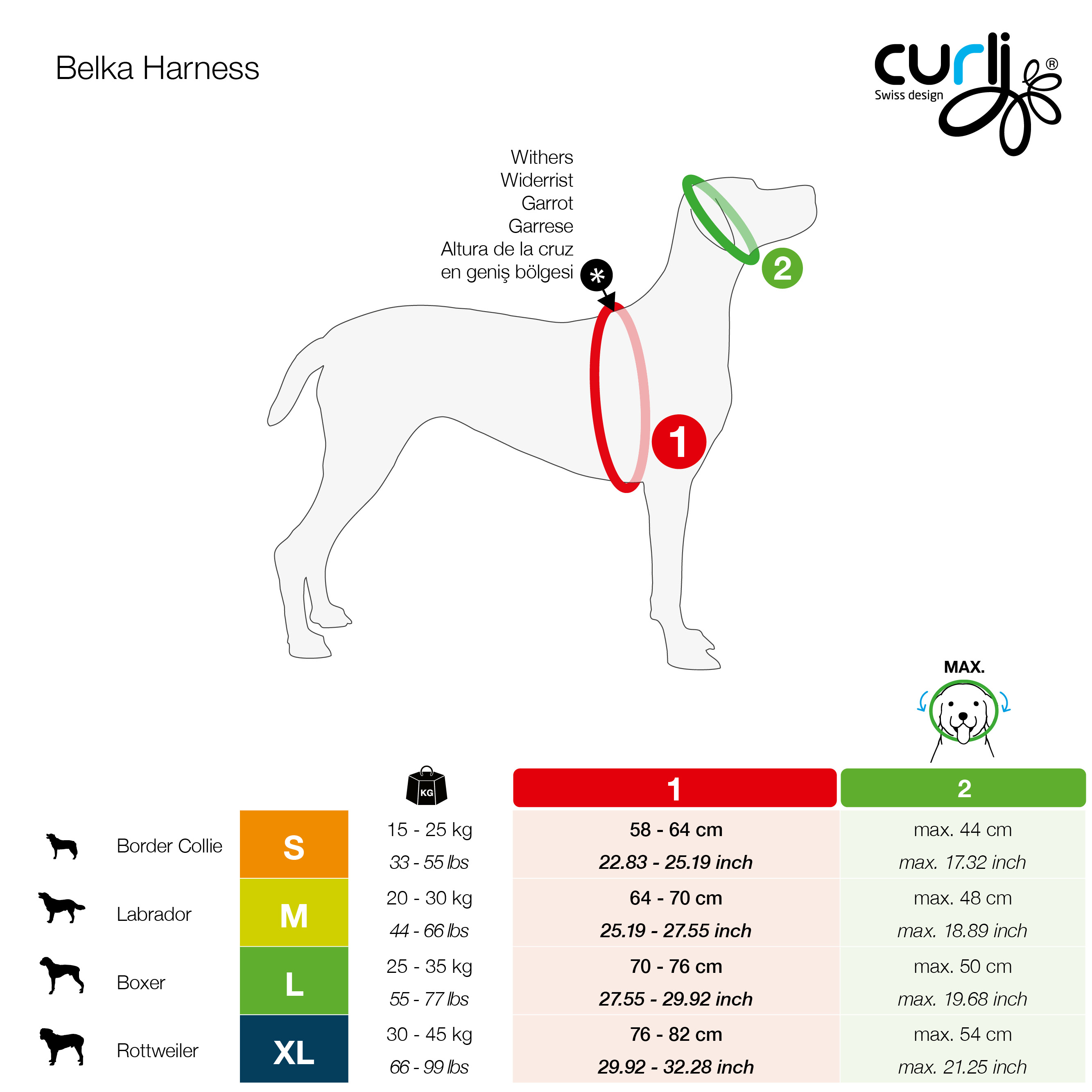 curli_Belka_Harness_Size_Chart