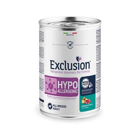 Exclusion Diet Hypoallergenic mit Hirsch & Kartoffeln