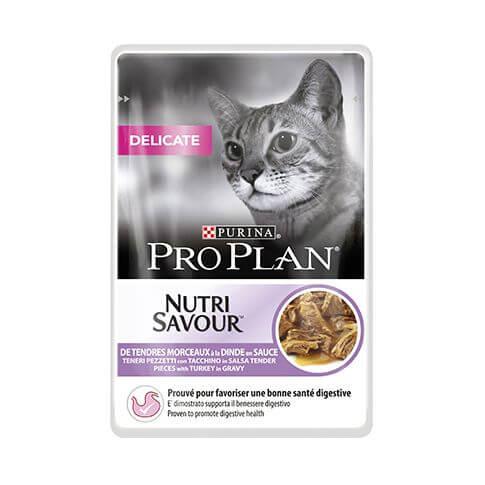 Purina Pro Plan Nutrisavour Delicate Turkey