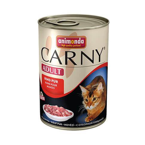 Carny Adult mit Rindfleisch pur