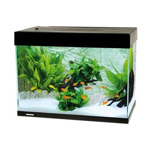 Amazonas LED Aquarium F78 schwarz
