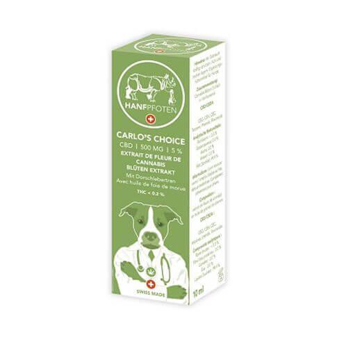 Hanfpfoten Cats Carlo's Choice 500 mg