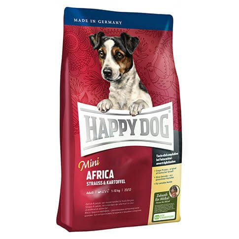 Happy Dog Supreme Mini Africa mit Strauss & Kartoffel