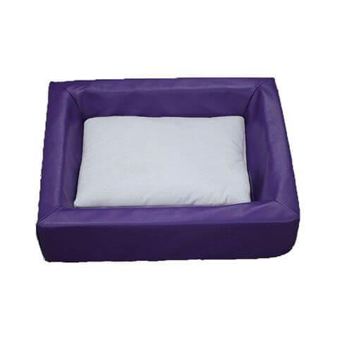 Hygienebett, violett