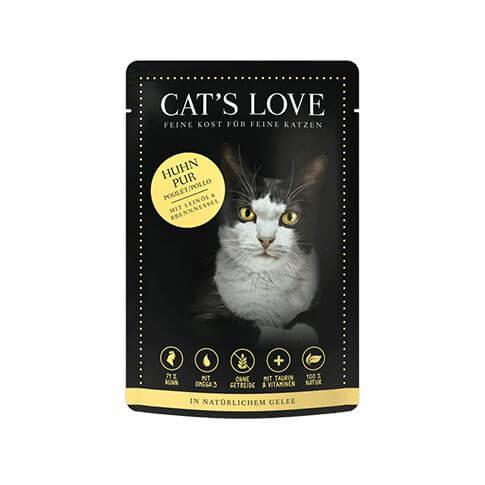 Cat's Love Adult Huhn Pur Beutel