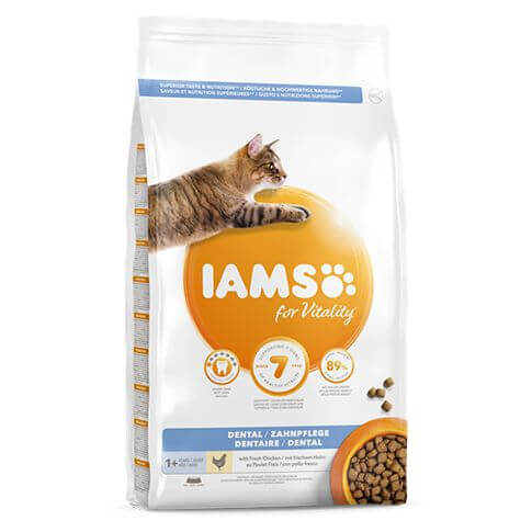 IAMS for Vitality Adult Dental Chicken