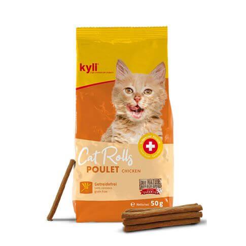 kyli Cat Rolls Huhn