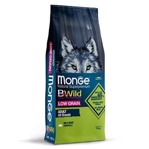 Monge Dog BWild Low Grain Adult Boar