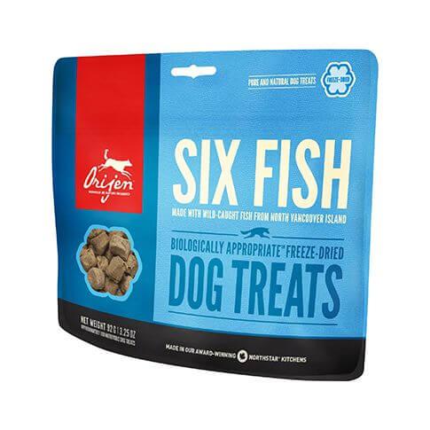 Orijen Dog Six Fish Leckerlis
