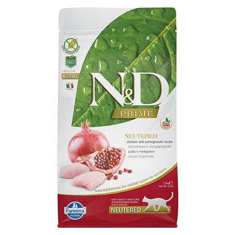 Farmina Prime Grain Free Adult Neutered Huhn & Granatapfel