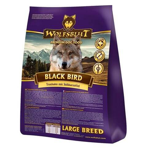 Wolfsblut Black Bird Large Breed Truthahn & Süsskartoffel