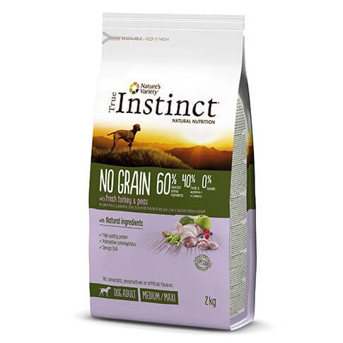 True Instinct No Grain Medium Adultult Turkey