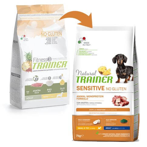 Sensitive Dog Adult Mini mit Ente