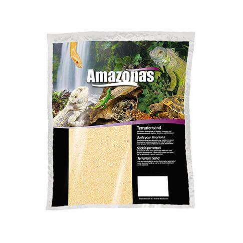 Amazonas Terrariensand trocken hellgelb