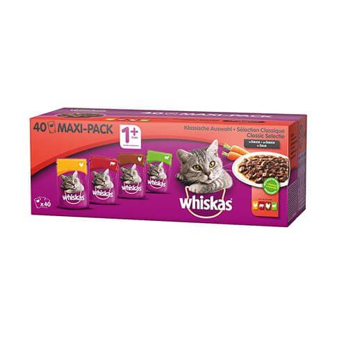 Whiskas Core 1+ Klassische Auswahl
