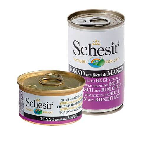 Schesir Thunfisch & Rindsfilet in Jelly